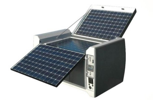 Powercube solar power generator