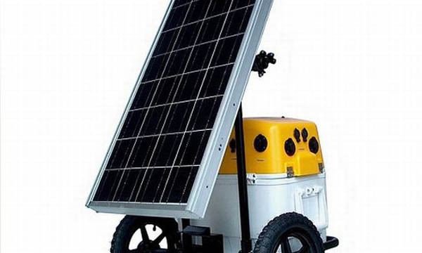 The Harvester solar power generator