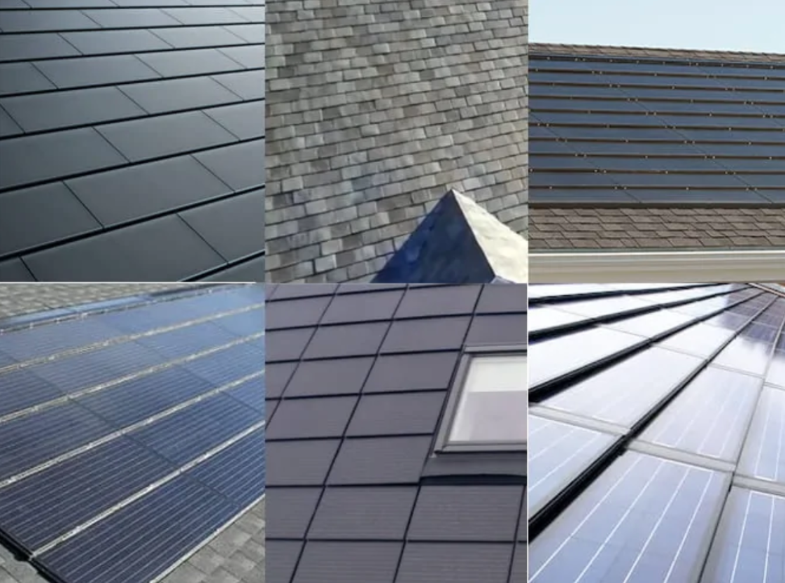 how different solar shingles brands look like