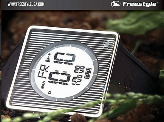 Freestyle's solar-powered watch